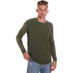 Oblačila Moški Puloverji Sseinse ME1510SS Zelena
