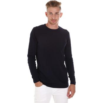 Oblačila Moški Puloverji Sseinse ME1504SS Modra