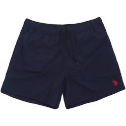 Oblačila Moški Kopalke / Kopalne hlače U.S Polo Assn. 56488 52458 Modra