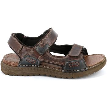 Čevlji  Moški Sandali & Odprti čevlji Grunland SA2526 Rjav