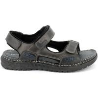 Čevlji  Moški Sandali & Odprti čevlji Grunland SA2526 Črna