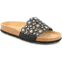 Čevlji  Ženske Natikači Grunland CB2460 Siva