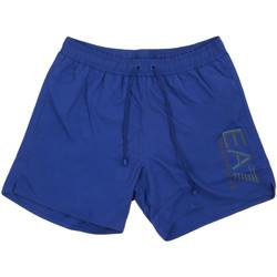 Oblačila Moški Kopalke / Kopalne hlače Ea7 Emporio Armani 902000 0P738 Modra