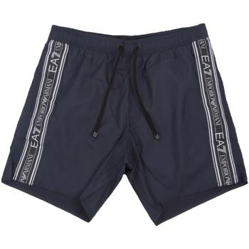 Oblačila Moški Kopalke / Kopalne hlače Ea7 Emporio Armani 902000 0P734 Modra