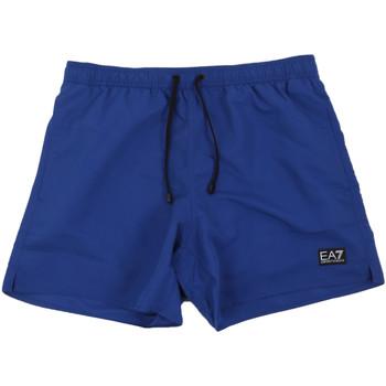 Oblačila Moški Kopalke / Kopalne hlače Ea7 Emporio Armani 902000 0P730 Modra