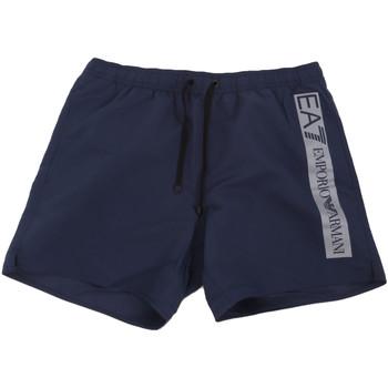 Oblačila Moški Kopalke / Kopalne hlače Ea7 Emporio Armani 902000 0P732 Modra