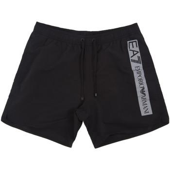 Oblačila Moški Kopalke / Kopalne hlače Ea7 Emporio Armani 902000 0P732 Črna
