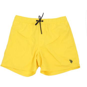 Oblačila Moški Kopalke / Kopalne hlače U.S Polo Assn. 56488 52458 Rumena