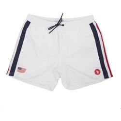 Oblačila Moški Kopalke / Kopalne hlače U.S Polo Assn. 58450 52458 Biely