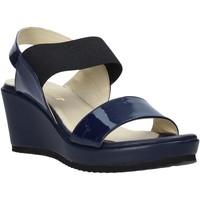 Čevlji  Ženske Sandali & Odprti čevlji Esther Collezioni ZB112 Modra