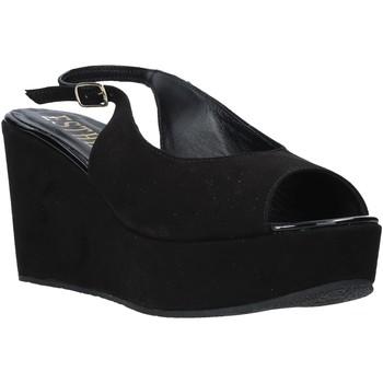 Čevlji  Ženske Sandali & Odprti čevlji Esther Collezioni ZC 042 Črna
