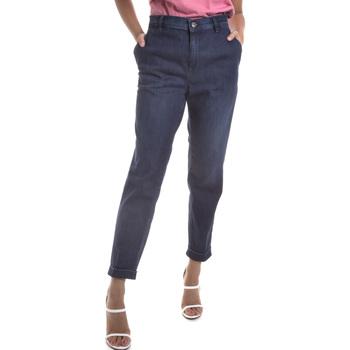 Oblačila Ženske Jeans Gas 365786 Modra