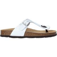 Čevlji  Ženske Japonke Grunland CB2469 Srebro