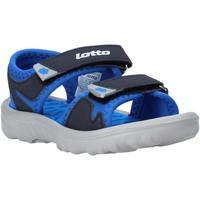 Čevlji  Otroci Sandali & Odprti čevlji Lotto L55098 Modra