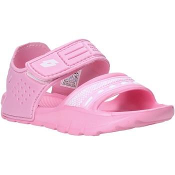 Čevlji  Deklice Sandali & Odprti čevlji Lotto L52298 Roza
