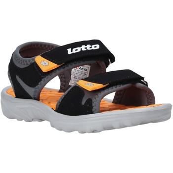 Čevlji  Otroci Sandali & Odprti čevlji Lotto L55098 Črna