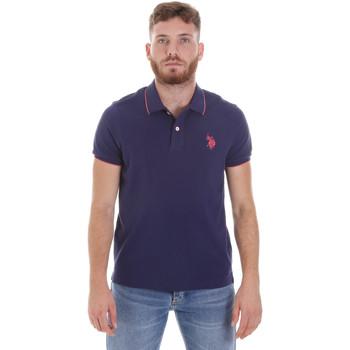 Oblačila Moški Polo majice kratki rokavi U.S Polo Assn. 58561 41029 Modra
