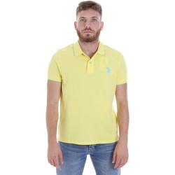 Oblačila Moški Polo majice kratki rokavi U.S Polo Assn. 58561 41029 Rumena