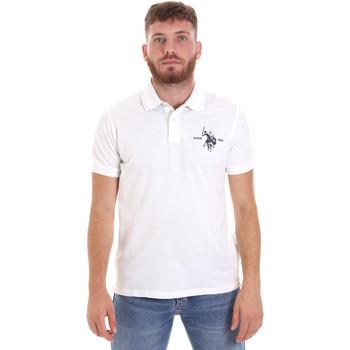 Oblačila Moški Polo majice kratki rokavi U.S Polo Assn. 55959 41029 Biely