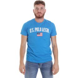 Oblačila Moški Majice s kratkimi rokavi U.S Polo Assn. 57117 49351 Modra