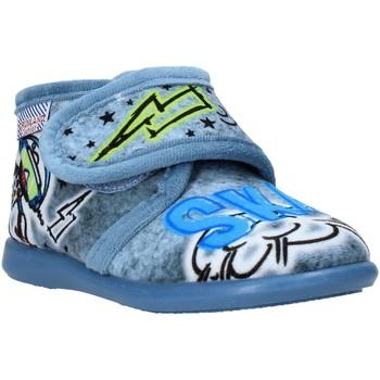 Čevlji  Otroci Nogavice Grunland PA0628 Modra