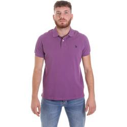 Oblačila Moški Polo majice kratki rokavi U.S Polo Assn. 55957 41029 Vijolična