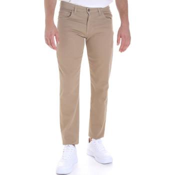 Oblačila Moški Hlače s 5 žepi Les Copains 9U3022 Bež