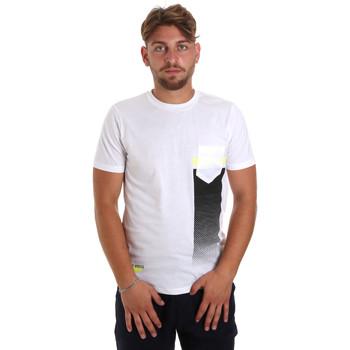 Oblačila Moški Majice s kratkimi rokavi Antony Morato MMKS01794 FA100189 Biely