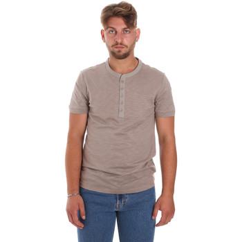 Oblačila Moški Majice s kratkimi rokavi Antony Morato MMKS01725 FA100139 Rjav