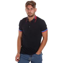 Oblačila Moški Polo majice kratki rokavi Antony Morato MMKS01805 FA100213 Modra