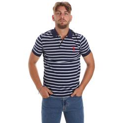 Oblačila Moški Polo majice kratki rokavi U.S Polo Assn. 56336 52802 Modra