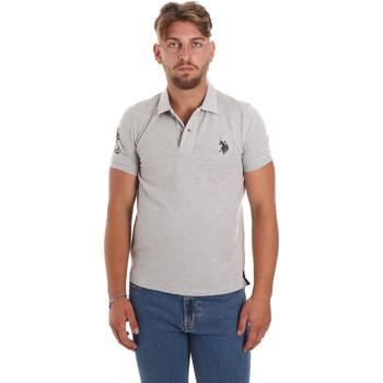 Oblačila Moški Polo majice kratki rokavi U.S Polo Assn. 55985 41029 Siva