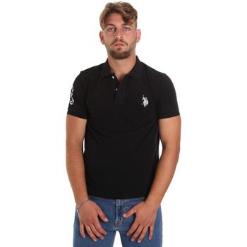 Oblačila Moški Polo majice kratki rokavi U.S Polo Assn. 55985 41029 Črna