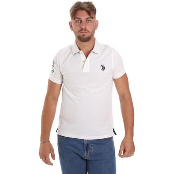 Oblačila Moški Polo majice kratki rokavi U.S Polo Assn. 55985 41029 Biely