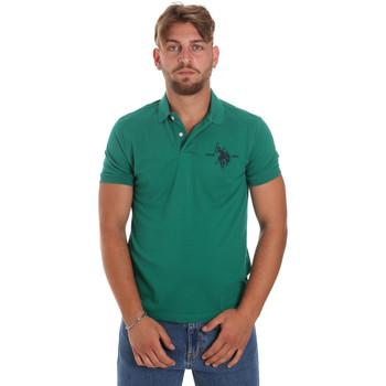 Oblačila Moški Polo majice kratki rokavi U.S Polo Assn. 55959 41029 Zelena