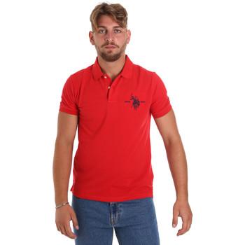 Oblačila Moški Polo majice kratki rokavi U.S Polo Assn. 55959 41029 Rdeča
