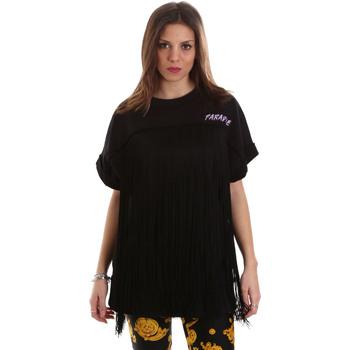 Oblačila Ženske Puloverji Versace B6HVB79813956899 Črna
