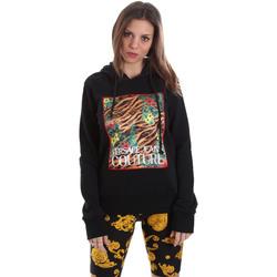 Oblačila Ženske Puloverji Versace B6HVB70K30328899 Črna
