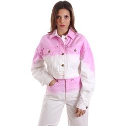 Oblačila Ženske Puloverji Versace C0HVB96MHRC5C445 Biely