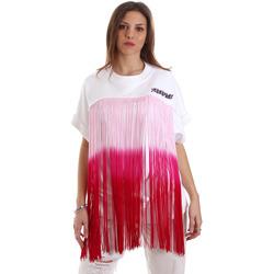 Oblačila Ženske Puloverji Versace B6HVB76713956003 Biely