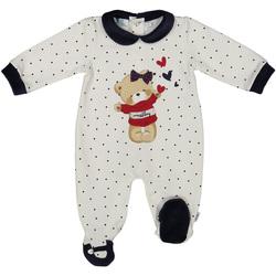 Oblačila Otroci Kombinezoni Melby 20N0681 Biely
