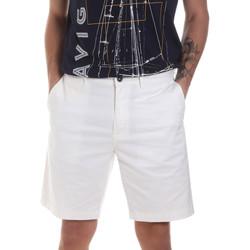 Oblačila Moški Kratke hlače & Bermuda Navigare NV56031 Biely