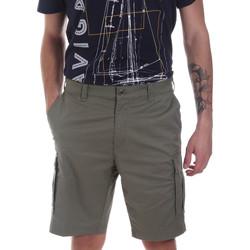 Oblačila Moški Kratke hlače & Bermuda Navigare NV56033 Zelena