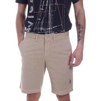 Oblačila Moški Kratke hlače & Bermuda U.S Polo Assn. 57319 49492 Bež