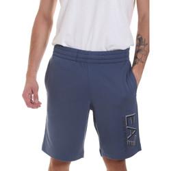 Oblačila Moški Kratke hlače & Bermuda Ea7 Emporio Armani 3HPS73 PJ05Z Modra