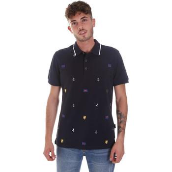 Oblačila Moški Polo majice kratki rokavi Navigare NV82120 Modra