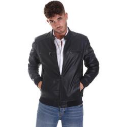 Oblačila Moški Usnjene jakne & Sintetične jakne Sseinse GBE574SS Modra