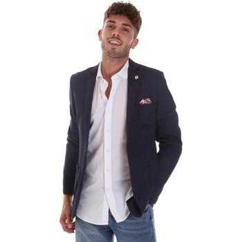 Oblačila Moški Jakne & Blazerji Sseinse GAE606SS Modra