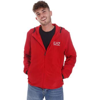 Oblačila Moški Športne jope in jakne Ea7 Emporio Armani 8NPB04 PNN7Z Rdeča