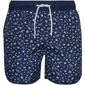 Oblačila Moški Kopalke / Kopalne hlače Superdry M3010003A Modra